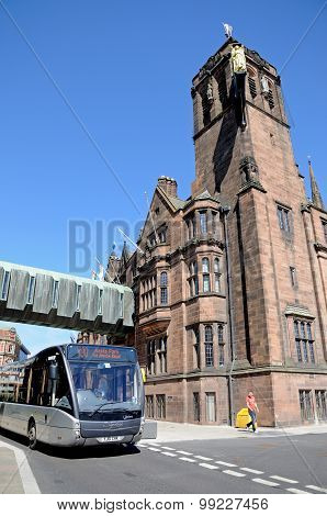 The Council House and bus, Coventry.