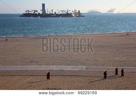 Oil Drilling Island