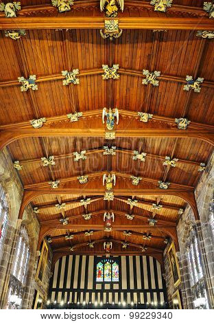 St Marys Guildhall ceiling, Coventry.