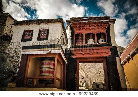 Ancient temple at Leh