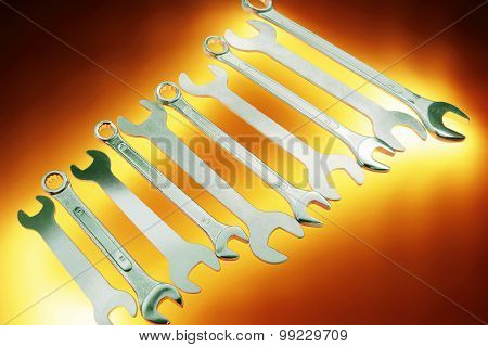 Row Of Spanners