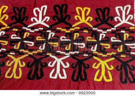 Turkmen traditional ornament