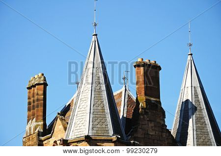 Building spires, Coventry.