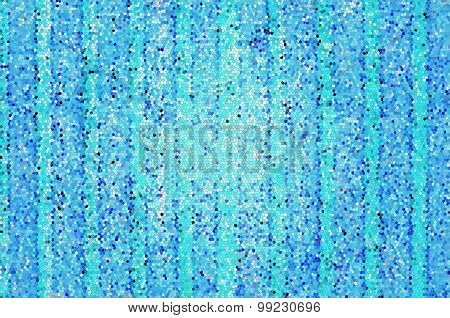 Wooden blue wall texture background,  mosaic effect, Stained glass