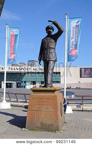 Sir Frank Whittle statue, Coventry.
