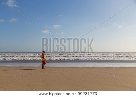 Lifeguard on the watch