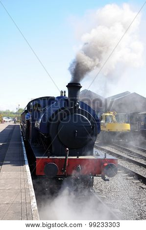 Tank Loco steaming.