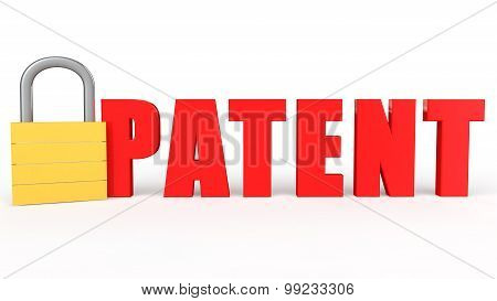 3d lock and word patent
