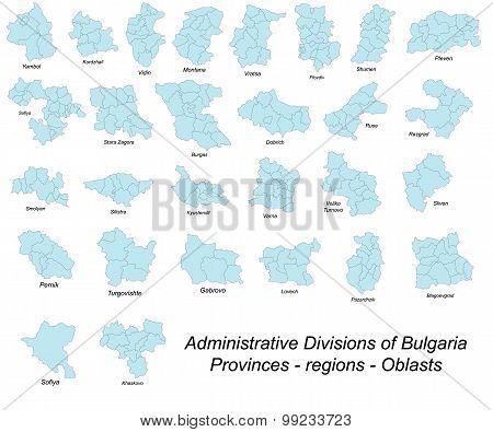 Bulgaria administrative divisions