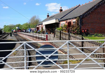 Brownhills West Railway Station.