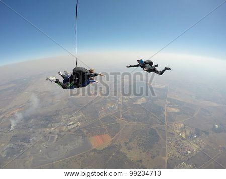 Skydive films tandem