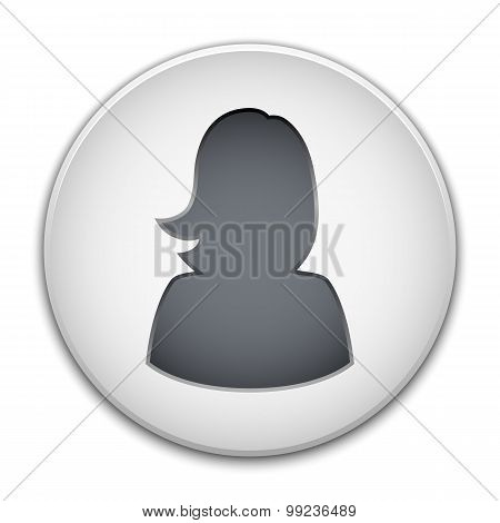 Female User Icon Vector