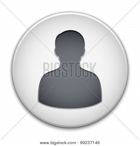 Male User Icon Vector