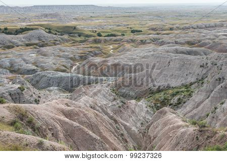Badlands Features