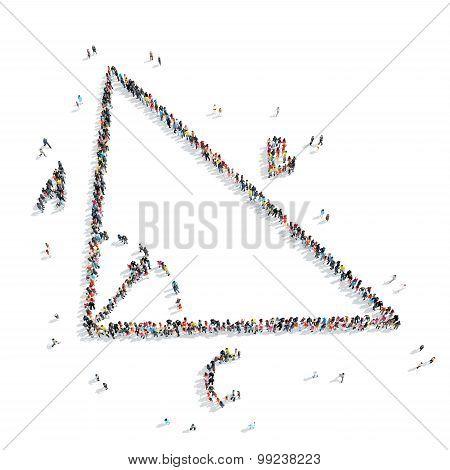 group  people  shape  geometric angle