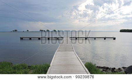 Fishing Pier Storm