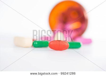 Medicine Tablet And Dispensing Bottle