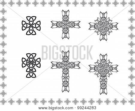 Celtic Stylization Cross