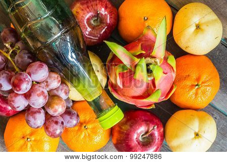The Color Of Many Fruits