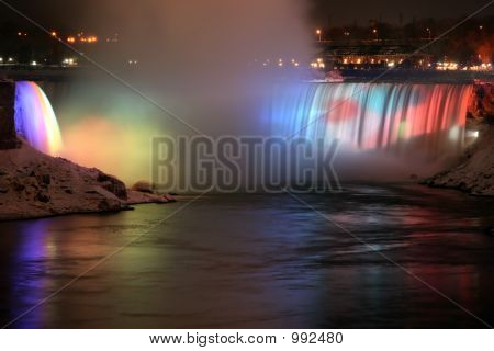 Niagara Falls - Rainbow Reflection