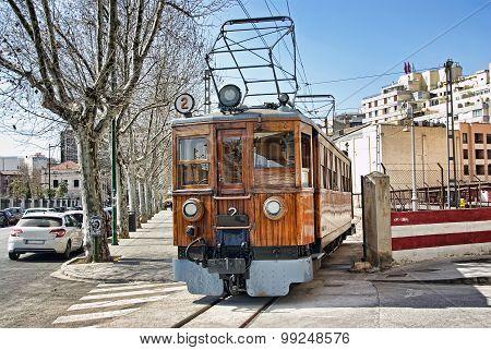 Vintage Wooden Soller Train