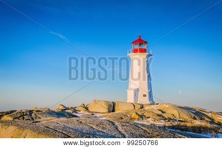 Lighthouse Peggys Cove, Nova Scotia, Canada
