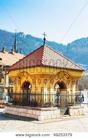 Brasov city, Rromania, Piata Unirii, Union square landmark