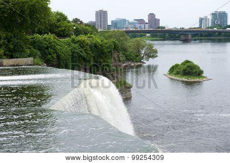Waterfalls in Canada. Waterfalls in Ottawa