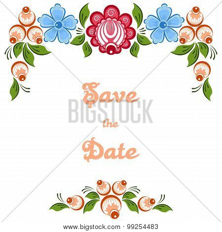Weddding Invitation Gorodets