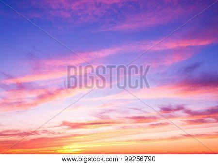 Bay View Burning Skies