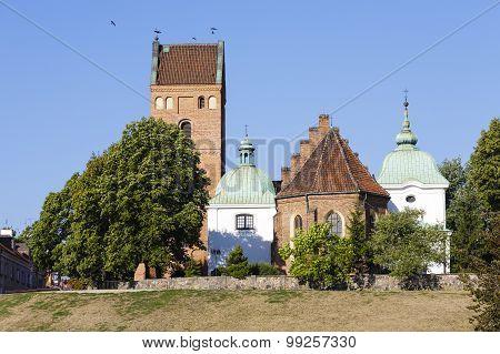 Church On The Vistula Escarpment In Warsaw