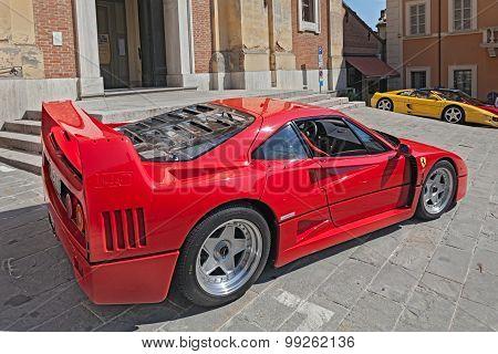 Sports Car Ferrari F40