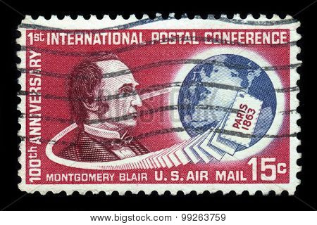 Montgomery Blair, 20Th United States Postmaster General