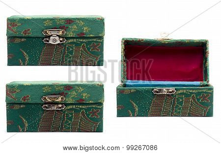 Vintage Beautiful Jewelry Box.