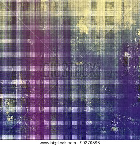 Abstract grunge background of old texture. With different color patterns: yellow (beige); purple (violet); blue; pink