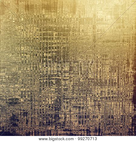 Old texture - ancient background with space for text. With different color patterns: yellow (beige); brown; purple (violet); gray