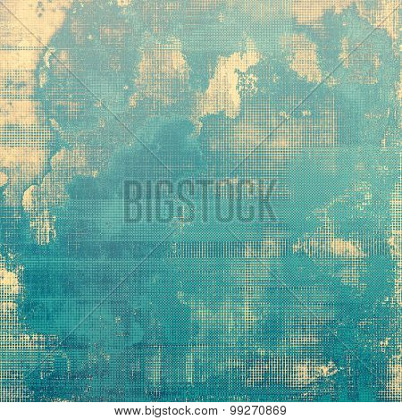 Vintage old texture for background. With different color patterns: yellow (beige); gray; blue; cyan