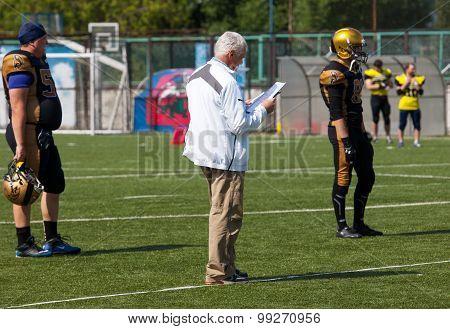 Head Trainer Of Spertans Team Alexey Geets