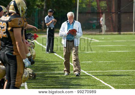 Alexey Geets, Head Trainer Of Spertans Team