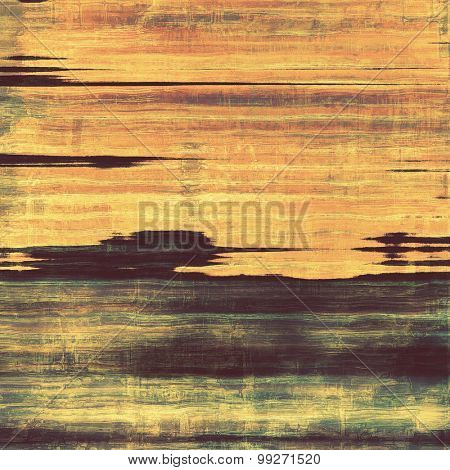 Vintage old texture for background. With different color patterns: yellow (beige); brown; purple (violet); gray