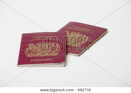 Two British Passports