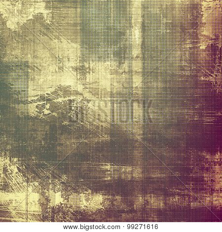 Old abstract grunge background for creative designed textures. With different color patterns: yellow (beige); brown; purple (violet); gray
