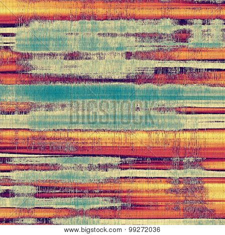 Old abstract grunge background for creative designed textures. With different color patterns: yellow (beige); red (orange); purple (violet); blue