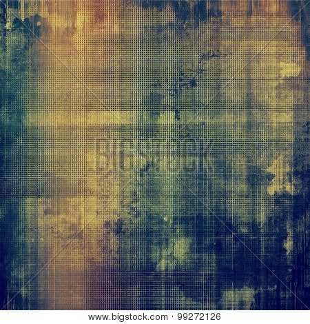 Old texture or antique background. With different color patterns: yellow (beige); brown; purple (violet); blue