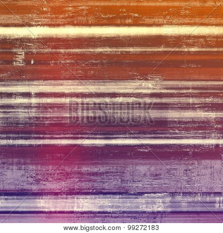 Colorful vintage texture. With different color patterns: brown; red (orange); purple (violet); pink