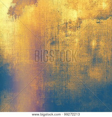 Grunge texture, may be used as retro-style background. With different color patterns: yellow (beige); brown; purple (violet); blue