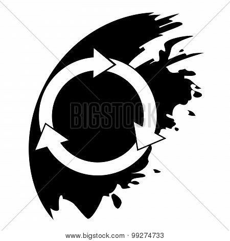 Arrows Circle Vector Icon