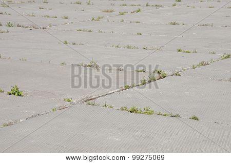 Grungy concrete surface