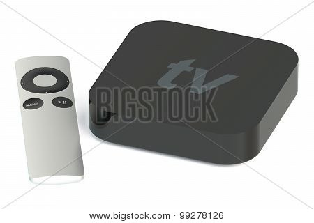 Digital Media Player Back View