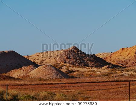 Coober Pedy in South Australia